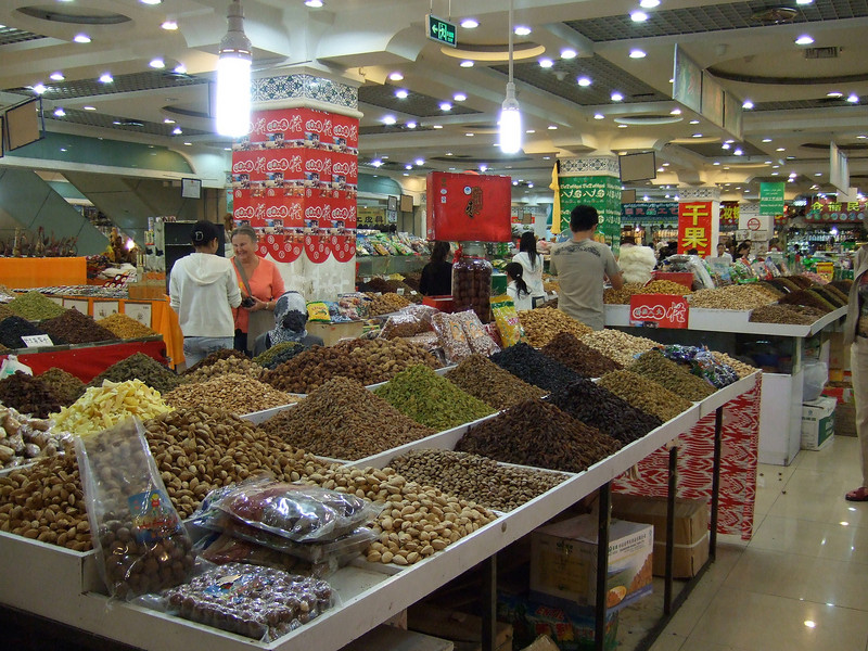 Inside the Bazaar in Urumqi