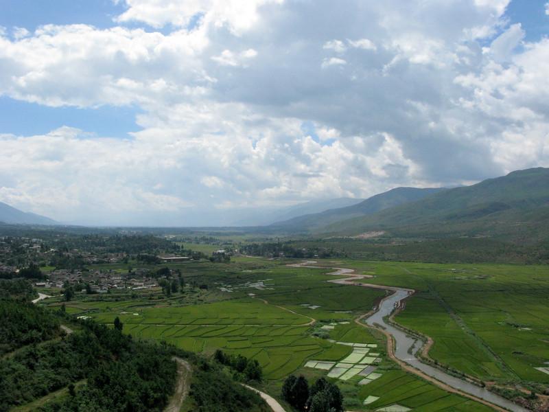 Farming Area outside LIjiang