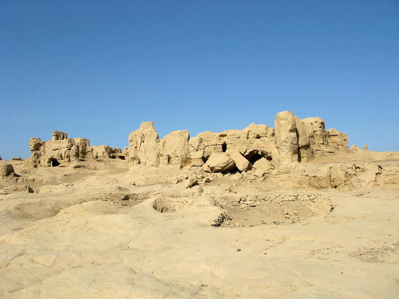 Ruins at the Ancient City of Jiaohe