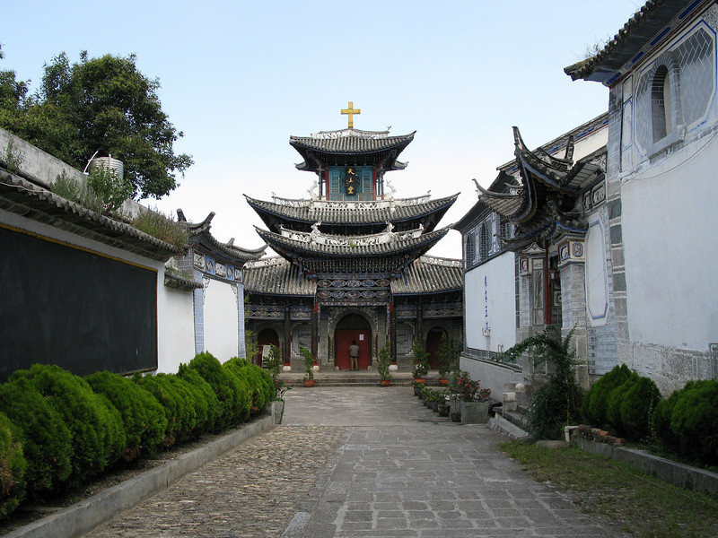 Catholic Church in Dali - Qing Dynasty Period