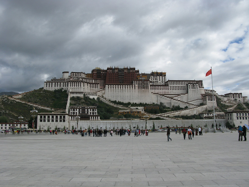 Potala Palace from the Plaza