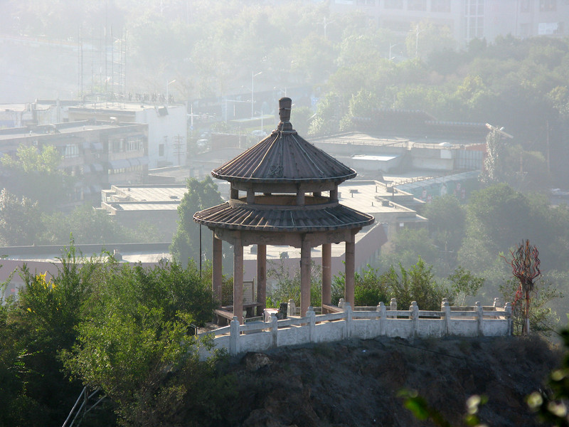 Small Pagoda from Red Hill Park - Urumqi