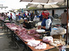 Meat at the Fresh Food Market in Lijiang