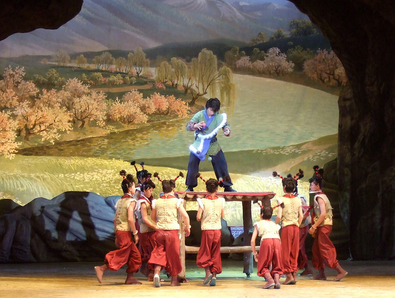 Show in Dunhuang