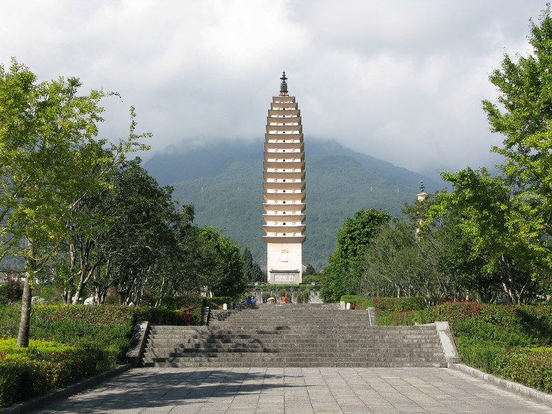 Large Pagoda - Chang Mountain Range - Dali