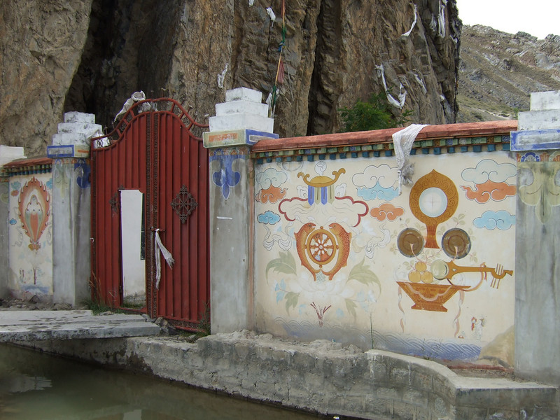 Path into a Tibetan Budda Inage