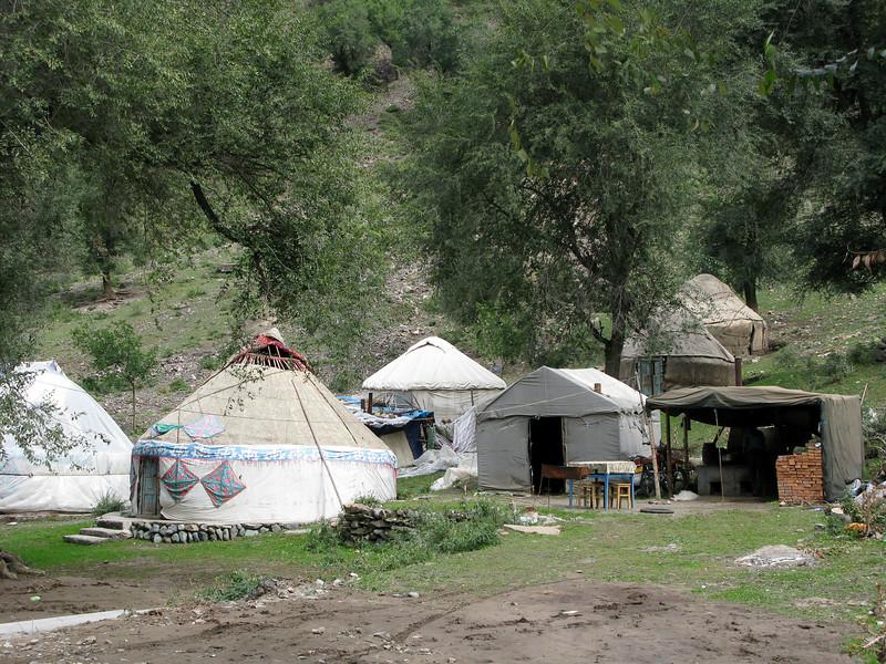 Kazakh Yurt Homes
