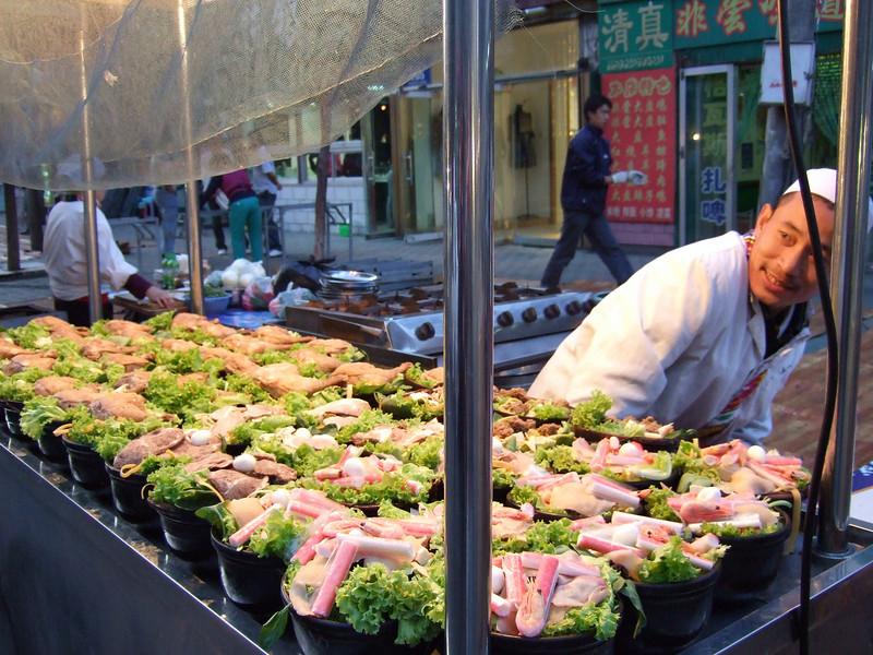 Night Market in Urumqi