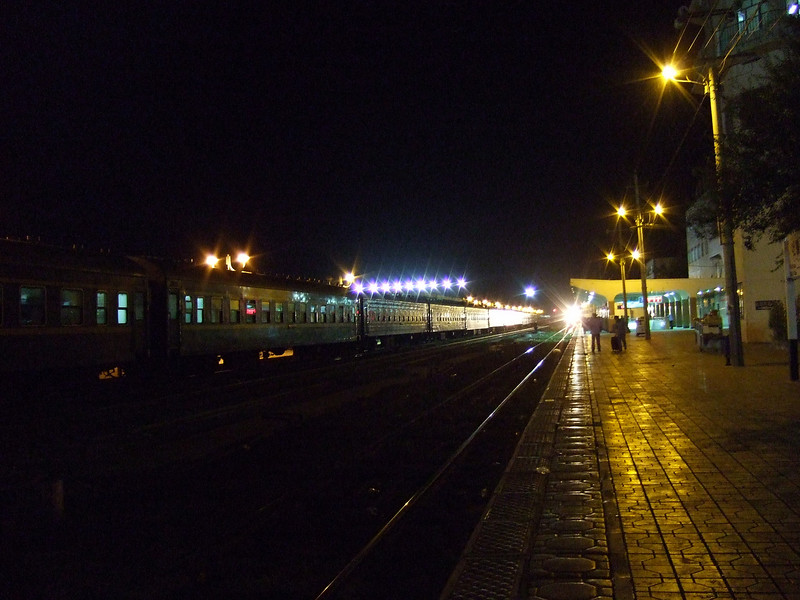 Overnight Sleeper Train to Dunhuang