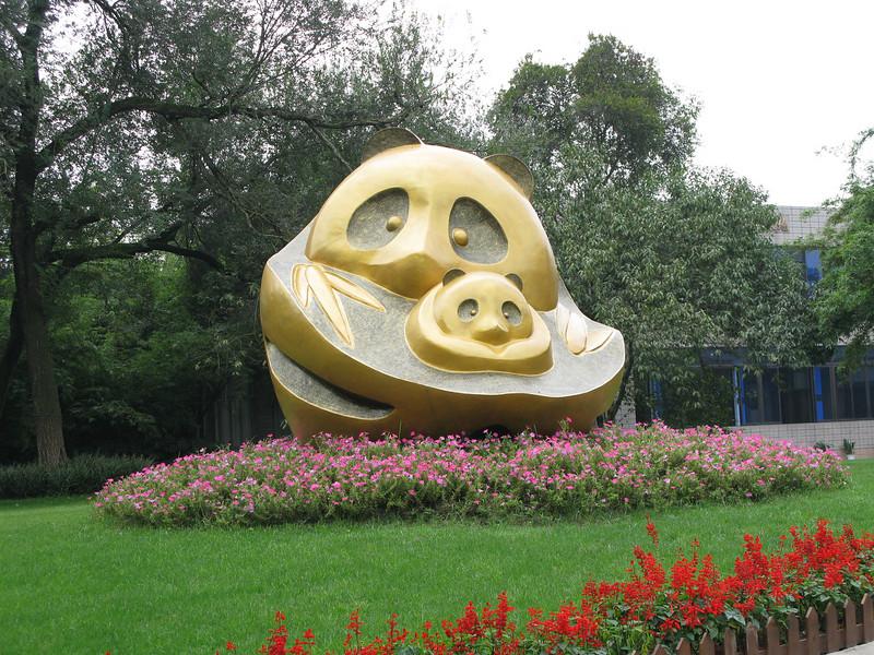 Happy Panda Statue