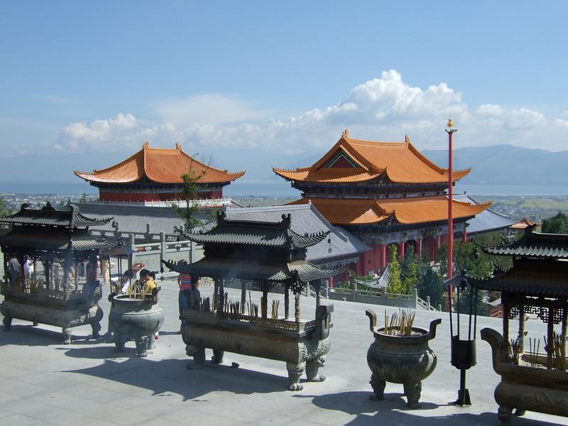 Temples at Three Pagodas - Dali