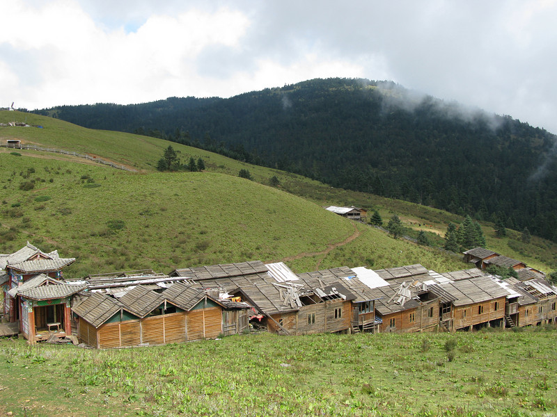 Deserted Village at Yak Meadow - Lijiang