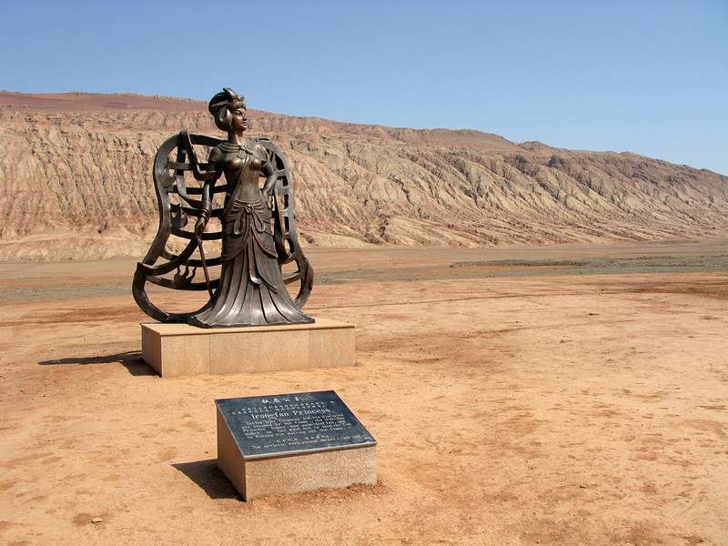 Iron-fan Princess and the Flaming Mountains