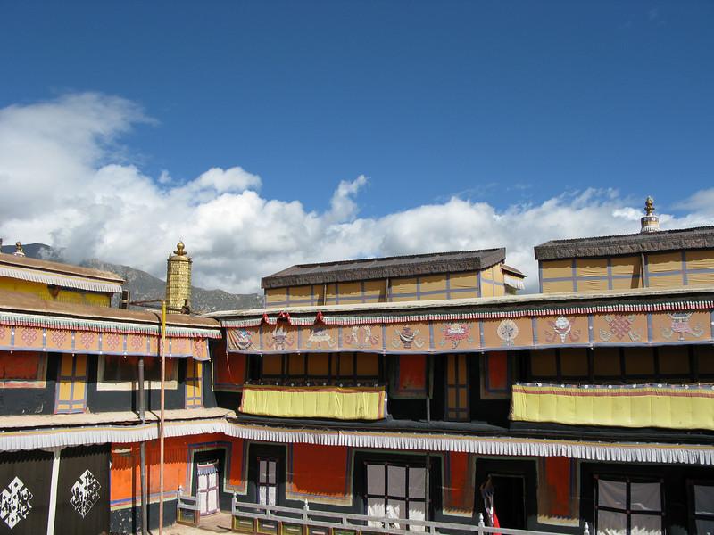 Top floors of Potala Palace