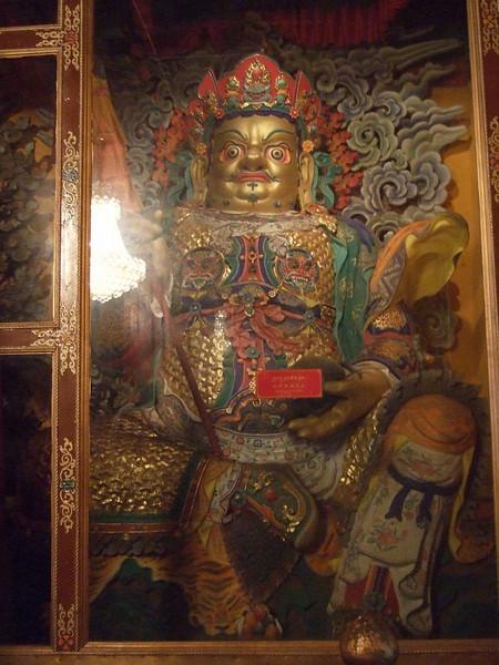 Inside the Sera Monastery