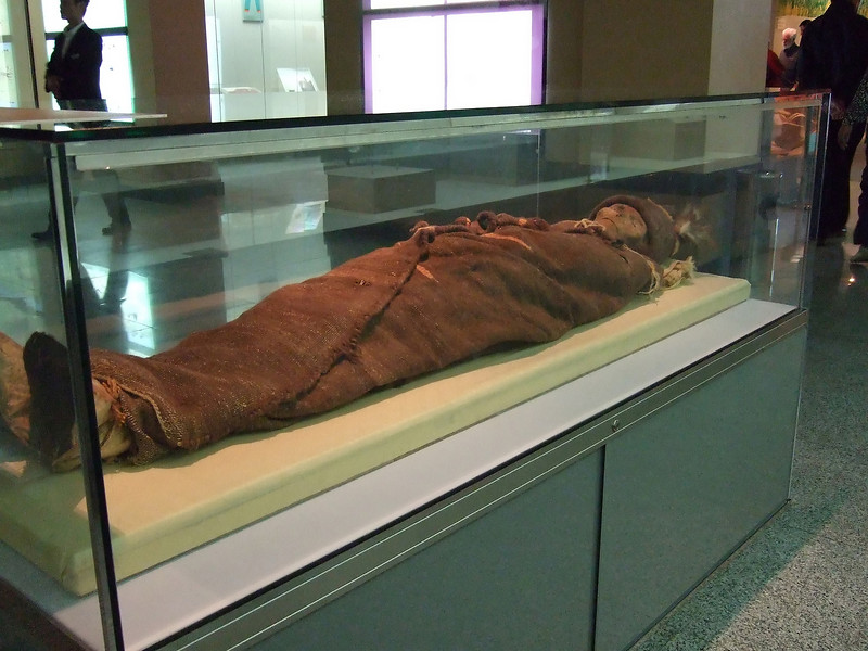 Low Land Beauty - a 3800 year old female Mummy who died at 45 years of age