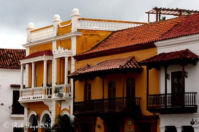 The balconies overlooking Plaza de La Aduana - Cartagena, Colombia ... October 15, 2011 ... Photo by Rob Page III