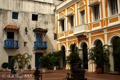 The square in front of Iglesia de San Pedro Claver - Cartagena, Colombia ... October 15, 2011 ... Photo by Emily Page