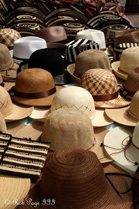 Hats for sale - Cartagena, Colombia ... October 15, 2011 ... Photo by Emily Page