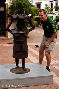 Stealing some fruit - Cartagena, Colombia ... October 15, 2011 ... Photo by Emily Page