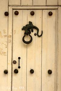 A door knocker - Cartagena, Colombia ... October 15, 2011 ... Photo by Rob Page III