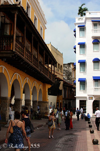 Strolling the streets near Plaza de dulces - Cartagena, Colombia ... October 15, 2011 ... Photo by Rob Page III