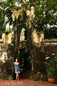 The courtyard of Iglesia de San Pedro Claver - Cartagena, Colombia ... October 15, 2011 ... Photo by Rob Page III