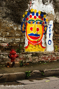Street Art - Cartagena, Colombia ... October 18, 2011 ... Photo by Rob Page III