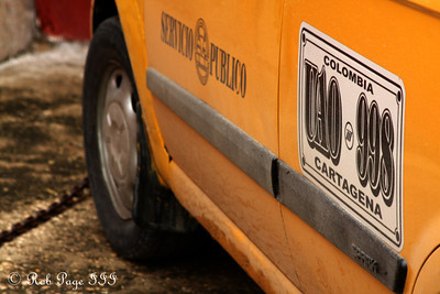 Need a taxi? - Cartagena, Colombia ... October 18, 2011 ... Photo by Rob Page III