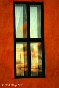 Sunset reflections - Cartagena, Colombia ... October 16, 2011 ... Photo by Emily Page