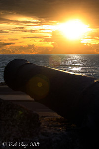 Sunset from Cafe del Mar - Cartagena, Colombia ... October 15, 2011 ... Photo by Rob Page III