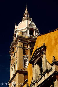 THe Cartagena Cathedral - Cartagena, Colombia ... October 16, 2011 ... Photo by Rob Page III