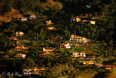 Housing high up on the mountainside - Medellin, Colombia ... October 20, 2011 ... Photo by Rob Page III
