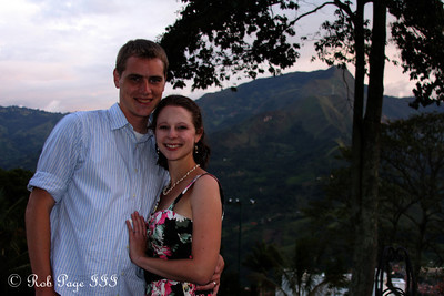 Rob and Emily - Medellin, Colombia ... October 20, 2011 ... Photo by Francine Meston