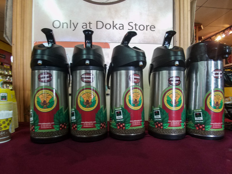 Time to try a cup of Joe at the Doka Coffee Plantation.