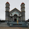 Beautiful Church in Sarchi, Costa Rica.