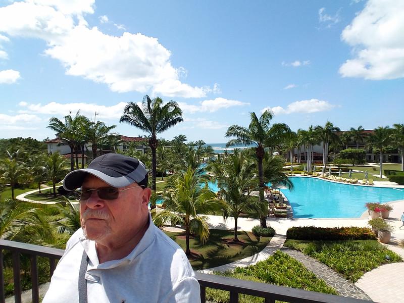 The Tourist King at the JW Marriott Guanacaste Beach Resort, Costa Rica.