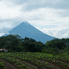 Volcano Arenal nearly fully clear of cloud cover, Costa Rica.