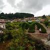 Catholic Church grounds in Sarchi, Costa Rica.
