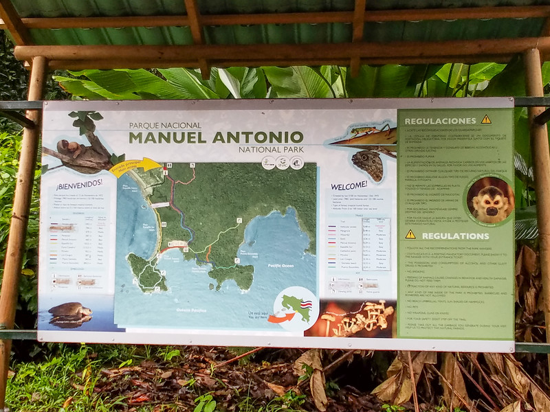 Manuel Antonio National Park in Costa Rica.
