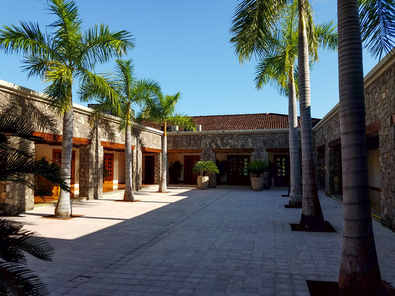 Part of the grounds of the JW Marriott Guanacaste Resort in Costa Rica.