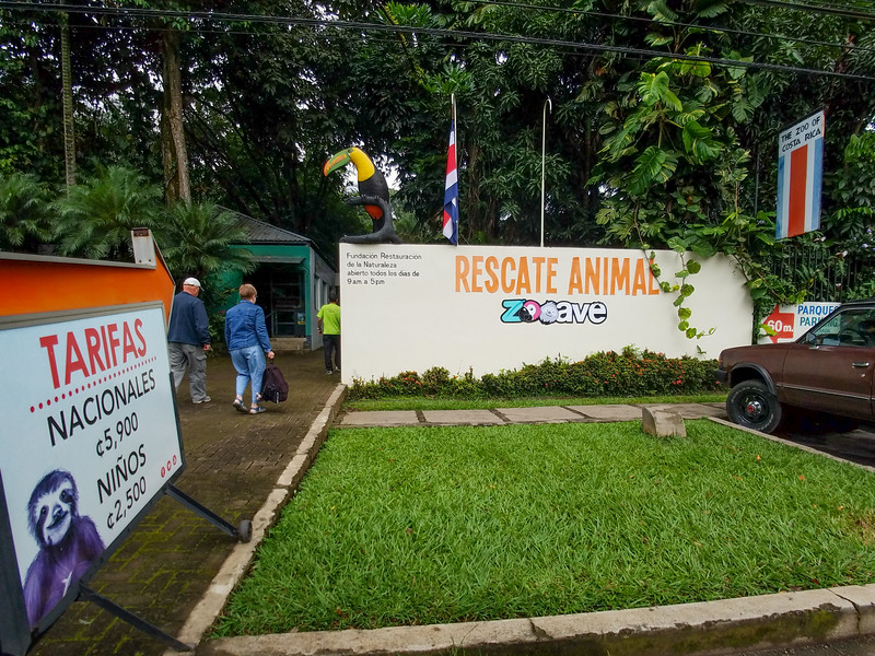 The Zooave Animal Rescue Center in Costa Rica.