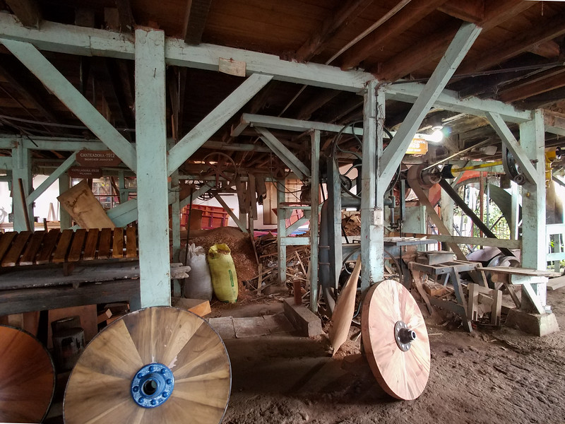 A manufacturing hub inside an Ox Cart factory in Sarchi, Costa Rica.