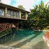 Inside the Baldi Hot Springs Park, Costa Rica.