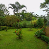 Grounds near the entrance of the Hanging Bridges Park in Costa Rica.