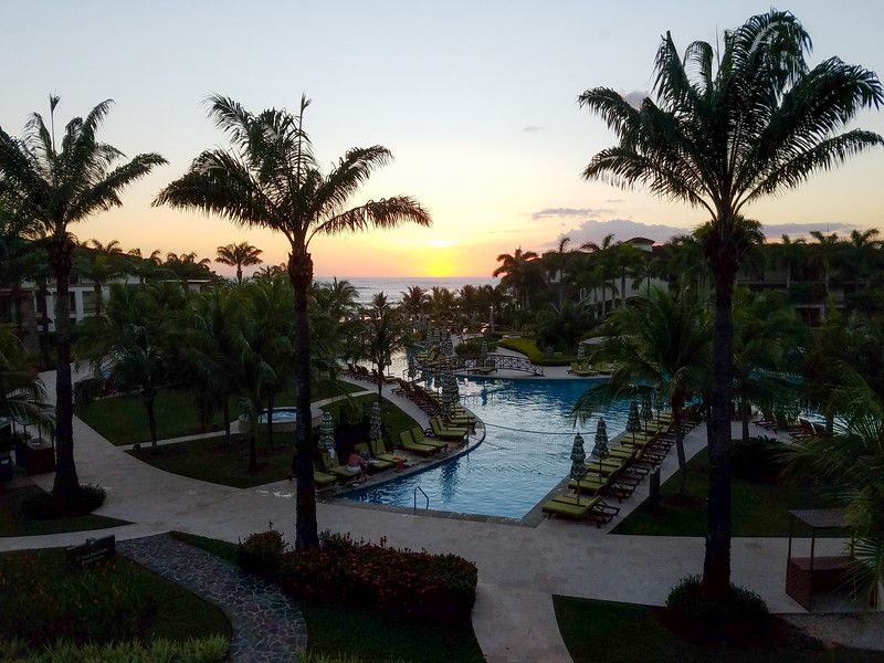 Beautiful Pacific Sunset from the JW Marriott Guanacaste, Costa Rica.