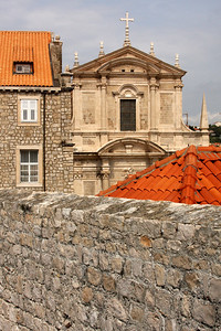 The St. Ignatius Church - Dubrovnik, Croatia ... April 29, 2008 ... Photo by Rob Page III
