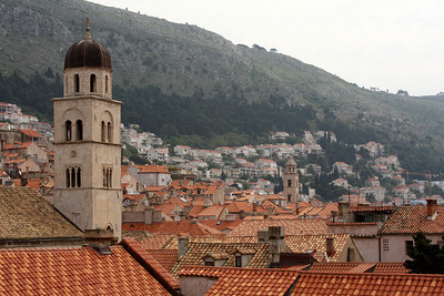 The Franciscan Monastery with the Dominican Monastery in the background - Dubrovnik, Croatia ... April 29, 2008 ... Photo by Rob Page III