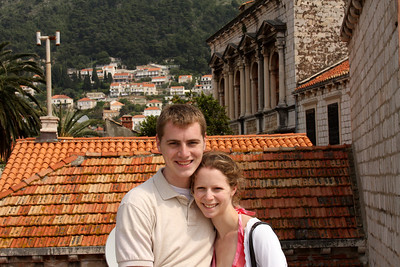 Rob and Emily - Dubrovnik, Croatia ... April 29, 2008 ... Photo by Unknown