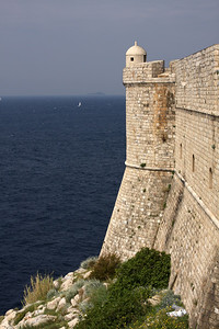 Looking out to sea - Dubrovnik, Croatia ... April 29, 2008 ... Photo by Rob Page III